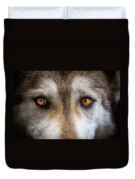Wolf Eyes Duvet Cover