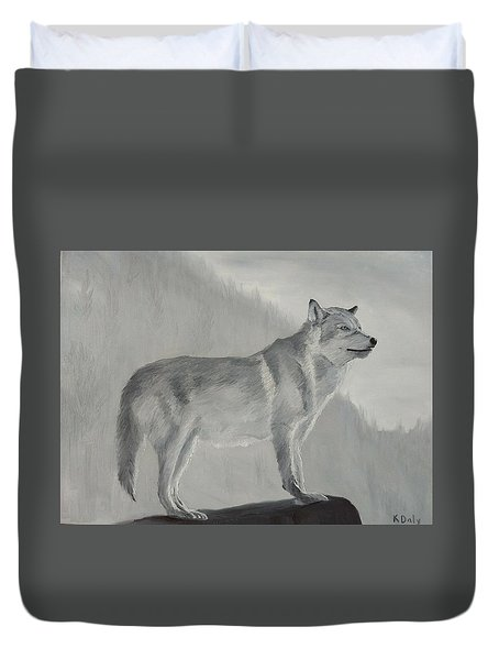 Vantage Point Duvet Cover