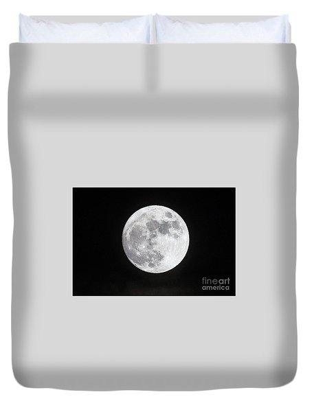 Wolf Moon Duvet Cover