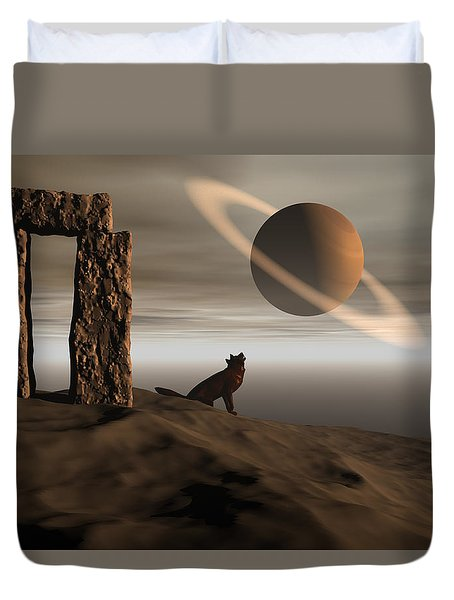 Wolf Song Duvet Cover