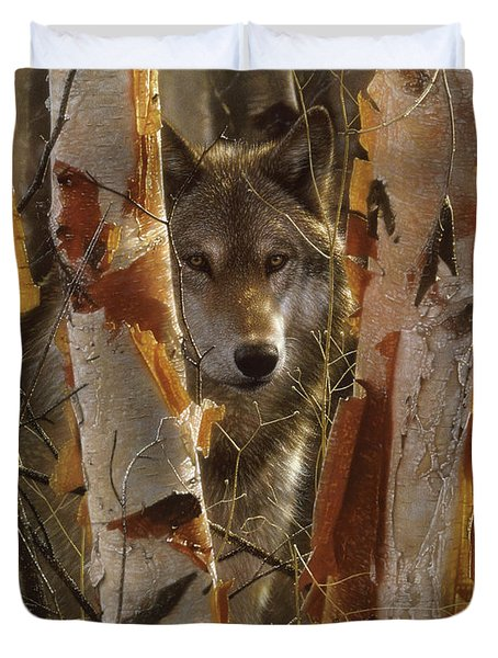 Wolf - The Guardian Duvet Cover