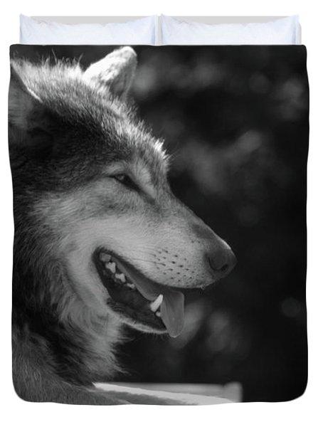 Wolfie Duvet Cover