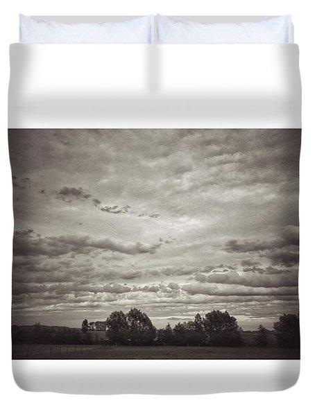 Wolken über Mir  #wolken #cloudscape Duvet Cover