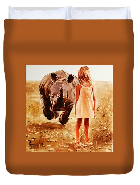 Wolks At Afrika Duvet Cover