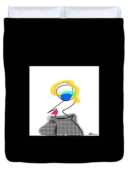 Woman 2 Duvet Cover