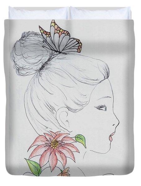 Woman Design - 2016 Duvet Cover