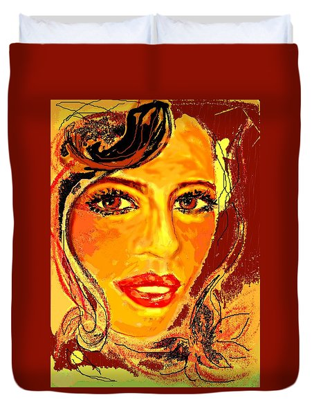 Woman Duvet Cover