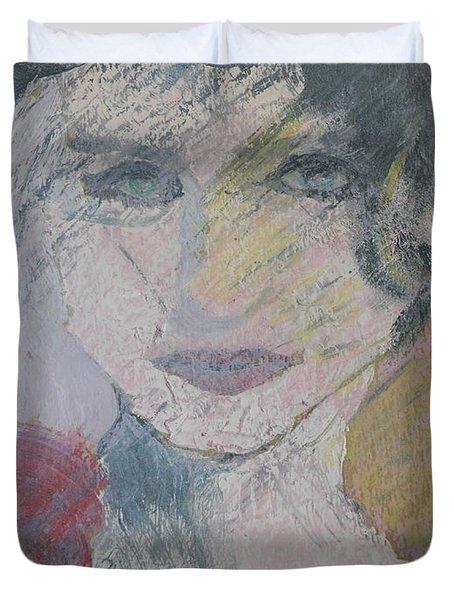 Woman's Portrait - Untitled Duvet Cover