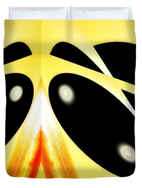 Duvet Cover featuring the photograph Wonder Bean by Beto Machado