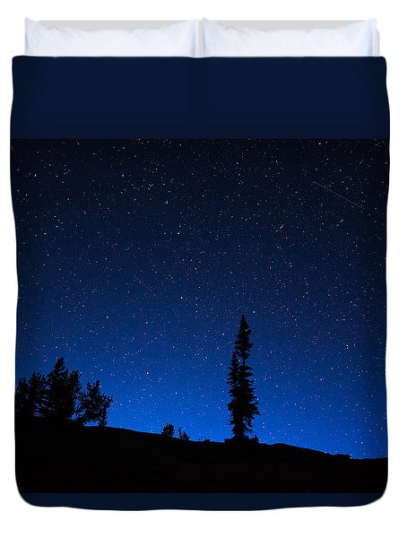 Duvet Cover featuring the photograph Wonder In Wyoming by Serge Skiba