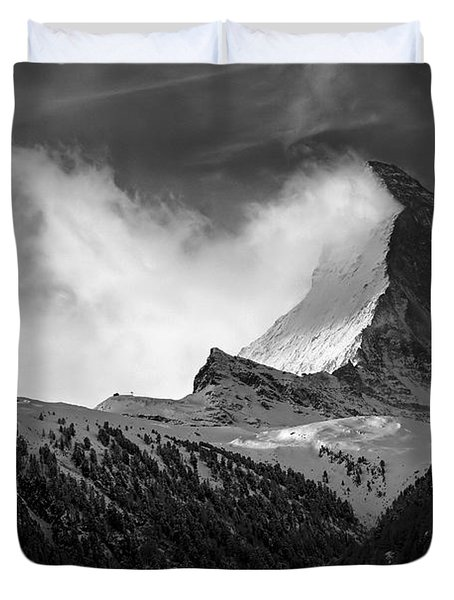 Wonder Of The Alps Duvet Cover