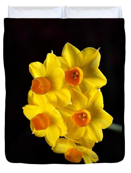 Wonderful Jonquils Duvet Cover