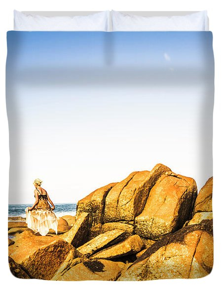 Wonderful West Coast Tasmania Duvet Cover