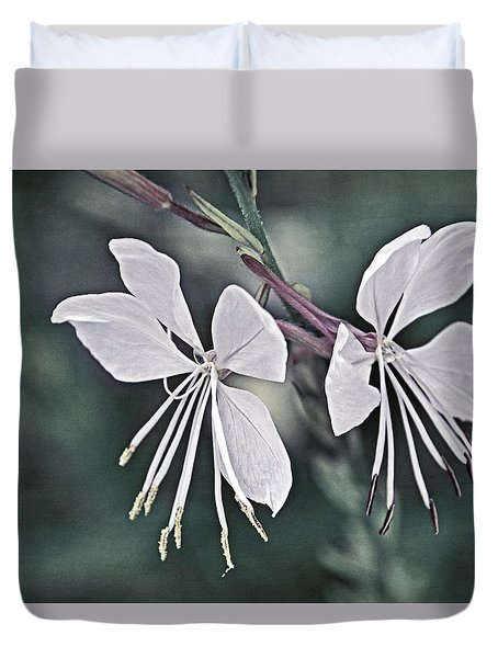 Wonderful Whites Duvet Cover