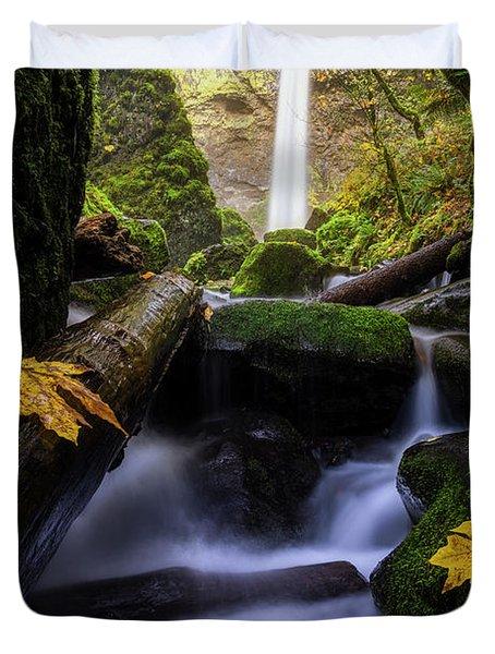 Wonderland In The Gorge Duvet Cover