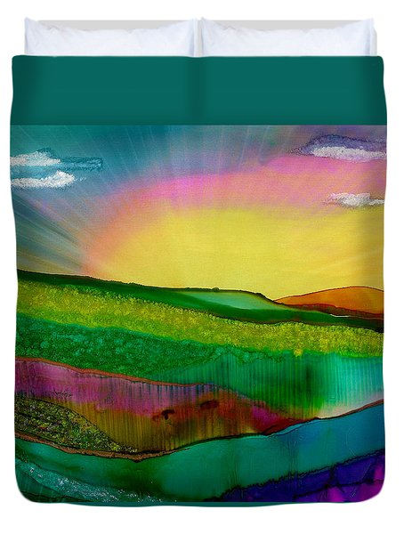 Wonderland Of Salad Days Duvet Cover