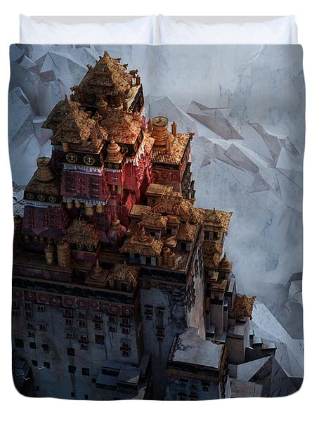 Wonders Holy Temple Duvet Cover
