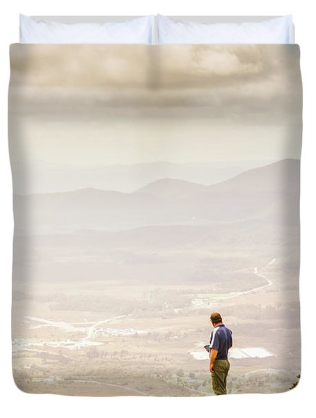 Wondrous Western Tasmania Duvet Cover