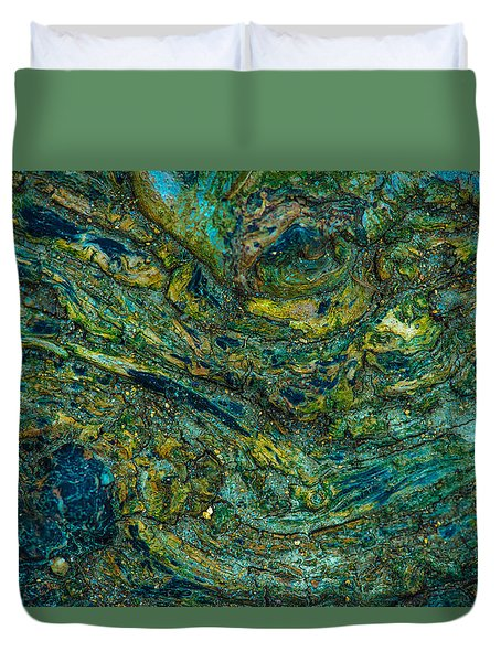 Wood Burl Abstract Duvet Cover