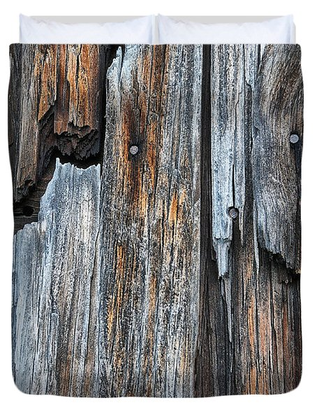 Wood Deatail Duvet Cover