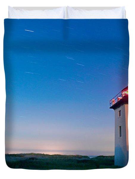Wood End Lighthouse Provincetown Cape Cod Duvet Cover by Matt Suess