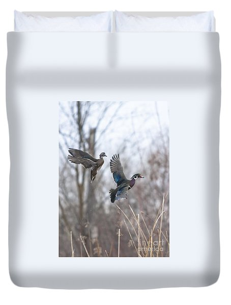 Wood Flight Duvet Cover