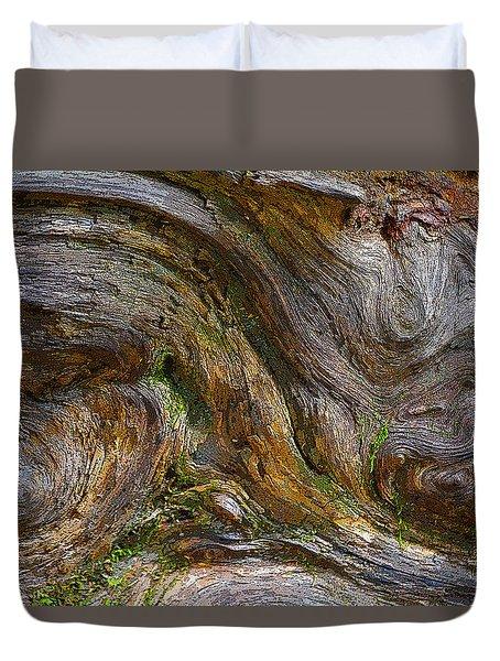 Wood Grain Duvet Cover