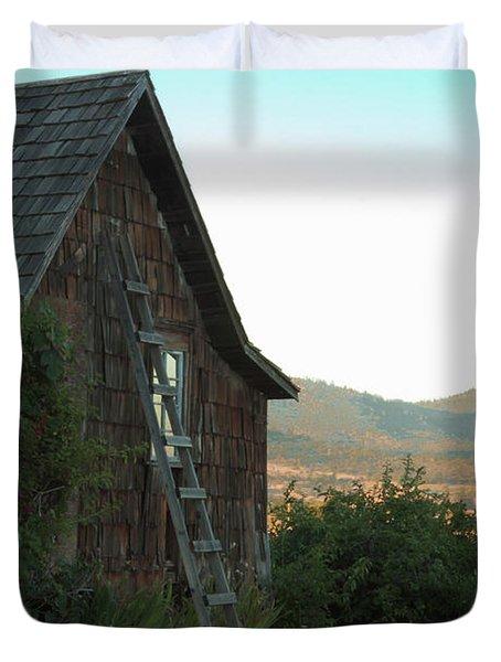 Wood House Duvet Cover