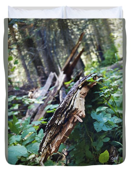 Wood In The Forest Duvet Cover