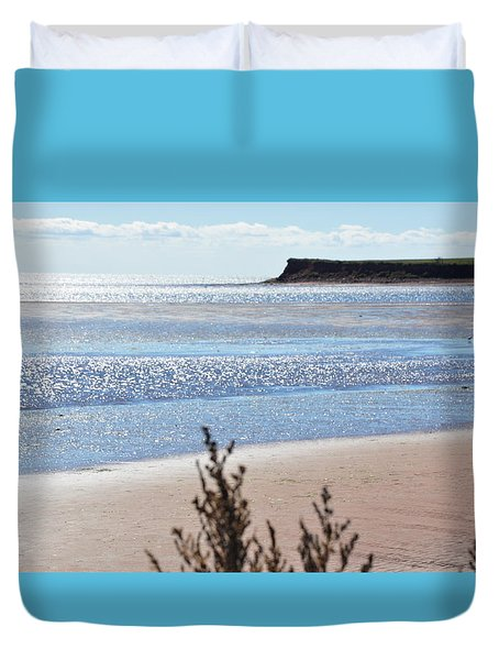 Wood Islands Beach Duvet Cover