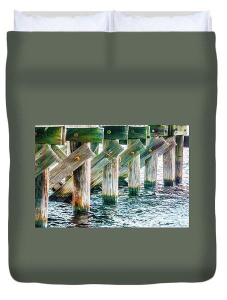 Wood Pier Duvet Cover
