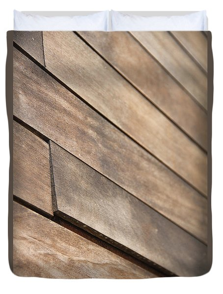 Wood Planks Duvet Cover