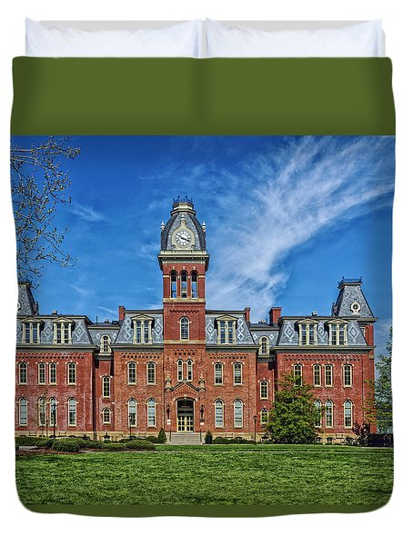 Woodburn Hall - West Virginia University Duvet Cover