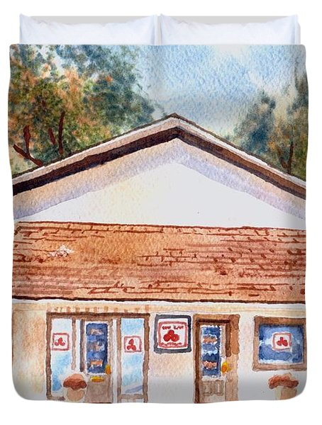 Woodcock Insurance In Watercolor  W406 Duvet Cover