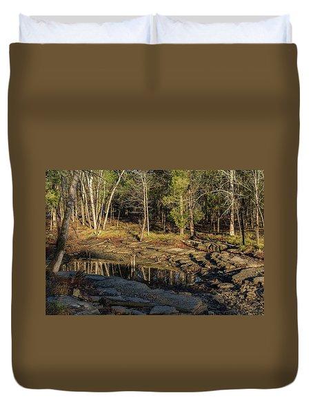 Wooded Backwash Duvet Cover