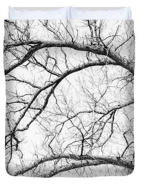 Wooden Arteries Duvet Cover