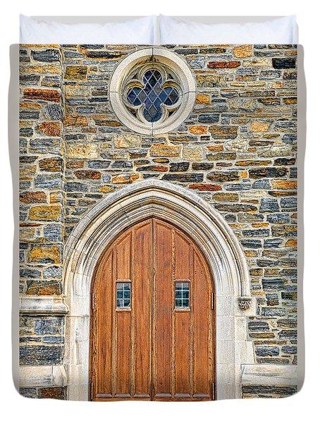 Wooden Doors Duvet Cover