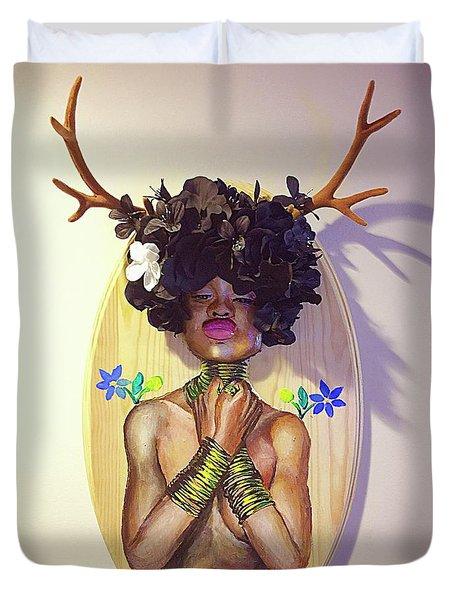 Woodgoddess Duvet Cover