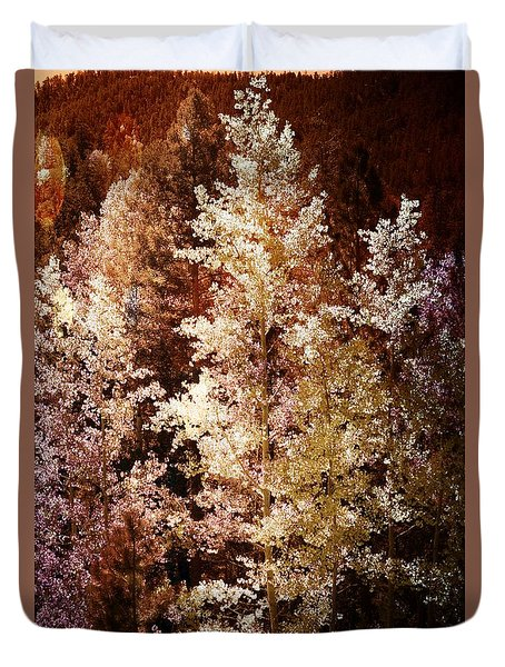 Woodland Beauty Duvet Cover by Joseph Frank Baraba