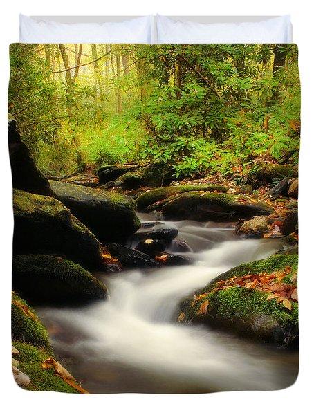 Woodland Fantasies Duvet Cover by Darren Fisher