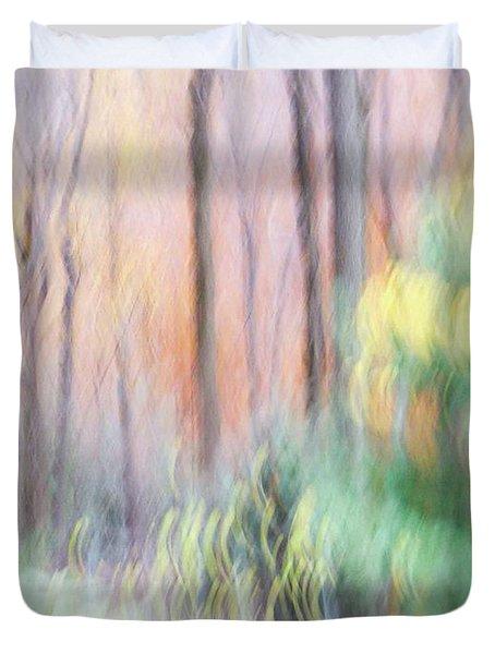 Woodland Hues 2 Duvet Cover