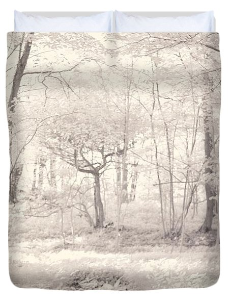 Woodland Duvet Cover by Keith Elliott