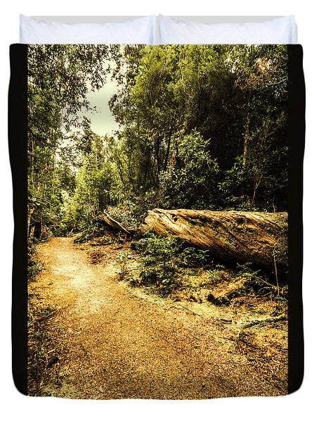 Woodland Nature Walk Duvet Cover