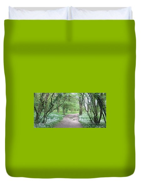 Woodland Path 1 Duvet Cover