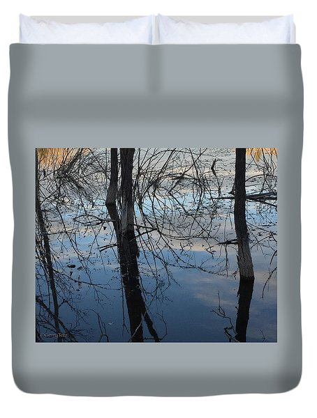Woodland Pond Duvet Cover
