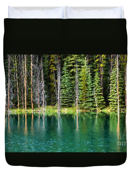 Woodland Reflections Duvet Cover