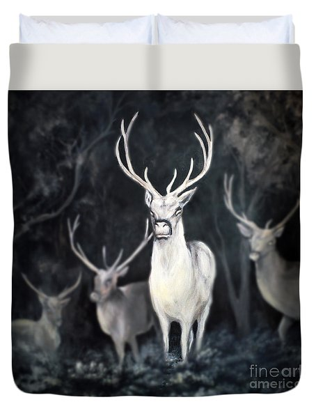 Woodland Spirits Duvet Cover