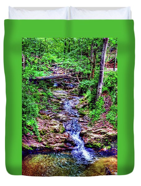 Woodland Stream Duvet Cover