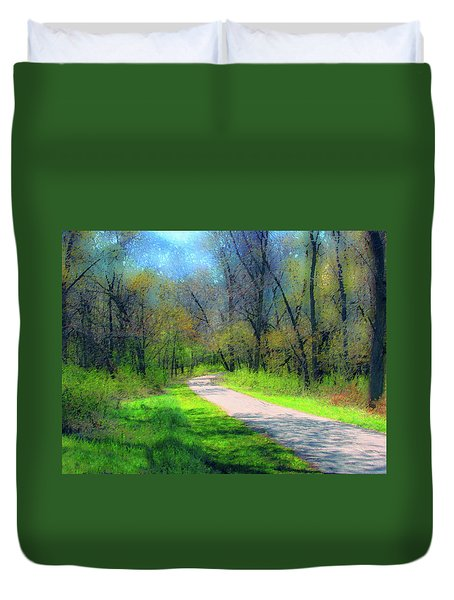 Woodland Trail Duvet Cover