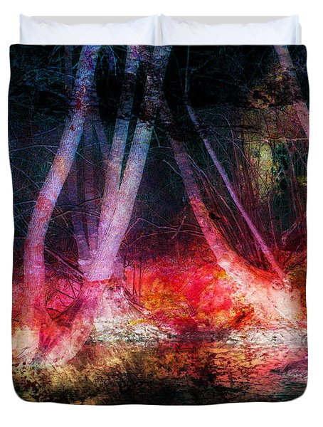 Woodland Twilight Duvet Cover
